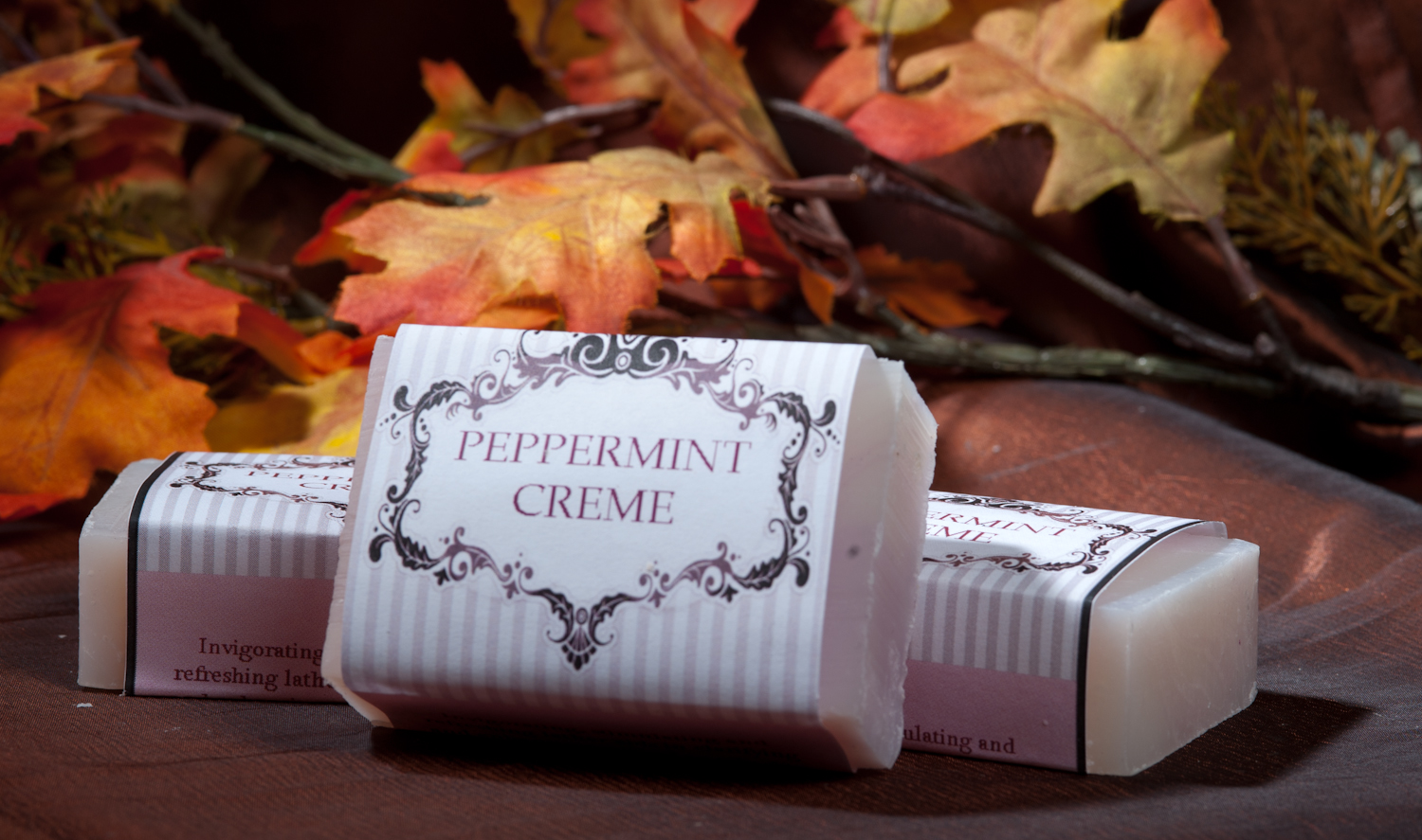 Peppermint Creme Soap