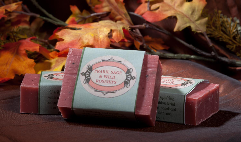 Prairie Sage & Wild Rosehips Soap