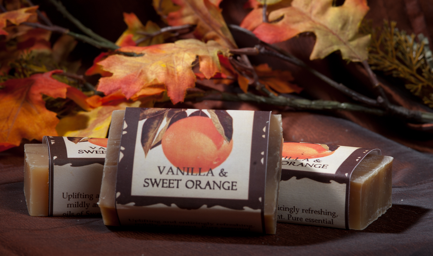 Vanilla & Sweet Orange Soap