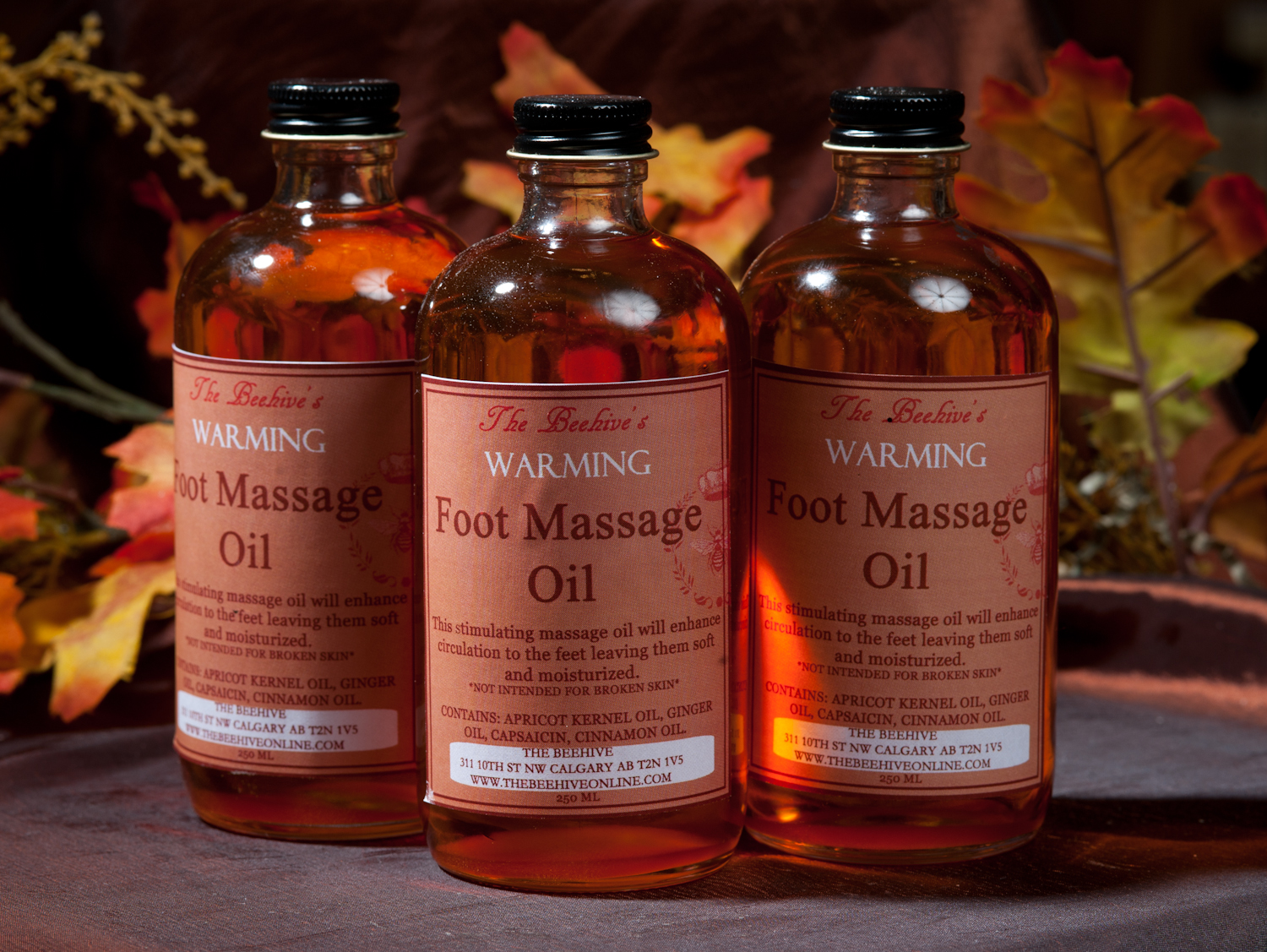 Warming Foot Massage Oil