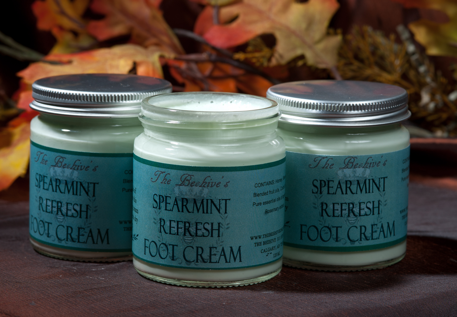 Spearmint Refresh Foot Crème