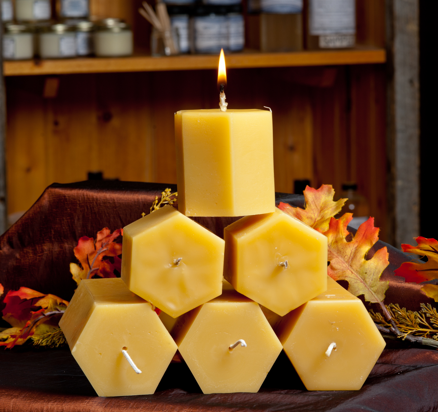 Hexagonal Candle